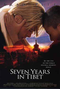 Семь лет в Тибете (постер)