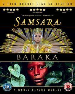 Фильмы «Барака», «Самсара», постер